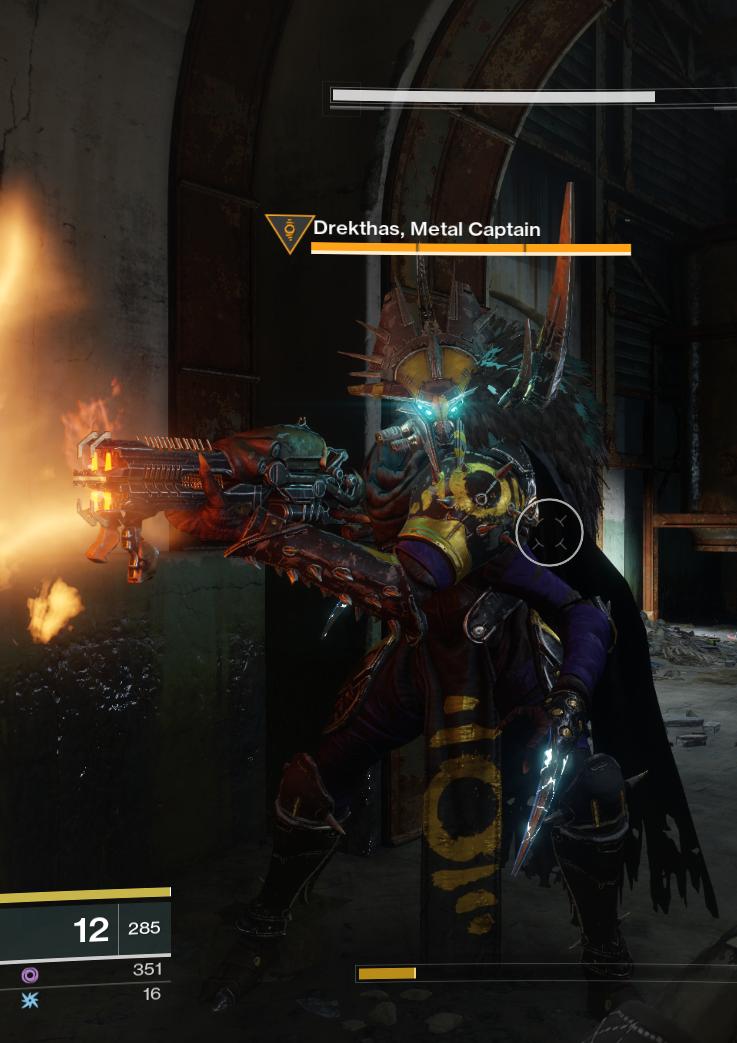 Drekthas, Metal Captain - Destinypedia, the Destiny ...