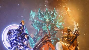 Guardian is fighting against Crota Phantasm