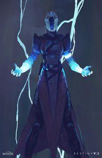 Stormcaller destinypedia the destiny encyclopedia - Warlock stormcaller ...