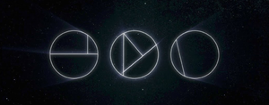 Insignia of the Nine as it appears in Destiny 2: three circles divided into nine pieces.