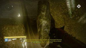 Shrine of oryx dead ghost
